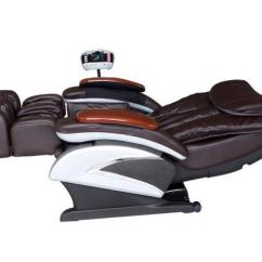 Recliner Massage Chair Drafting Canada Bestmassage Bm Ec06c Electric Full Body Shiatsu With Stretched Foot Rest Brown