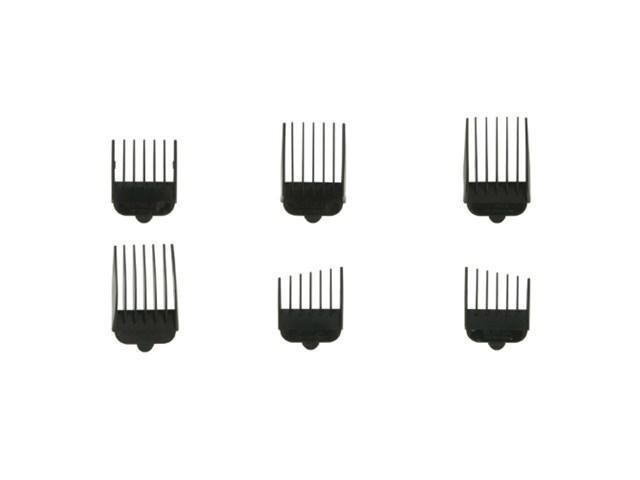 Wahl 3168-500 6pc Attachment Comb Set W/ Different Comb