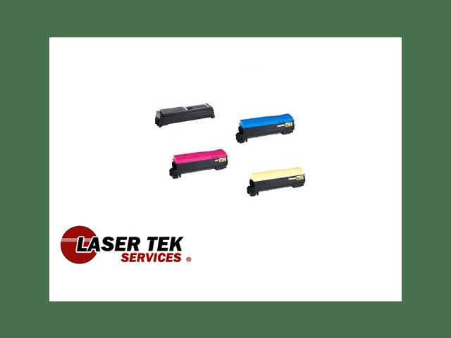 Laser Tek Services ® 4PK Compatible Toner Cartridge for