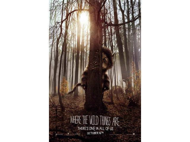 where the wild things are movie poster 11 x 17
