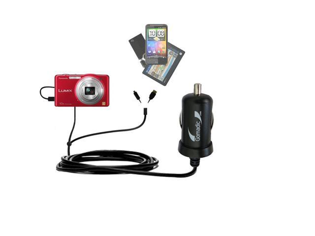 mini Double Car Charger with tips including compatible
