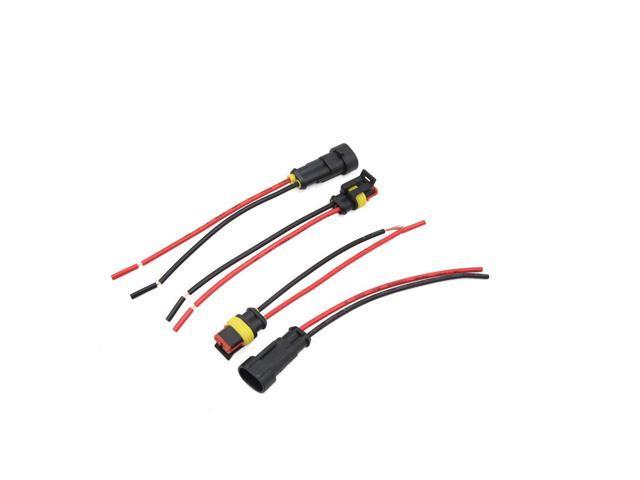 4 Pcs H11 9006 Male Female Wire Harness for Car Auto