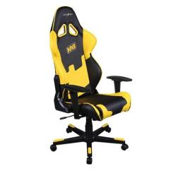 Yellow Office Chair Dutailier Glider Dxracer Racing Series Oh Re21 Ny Navi Black Gaming
