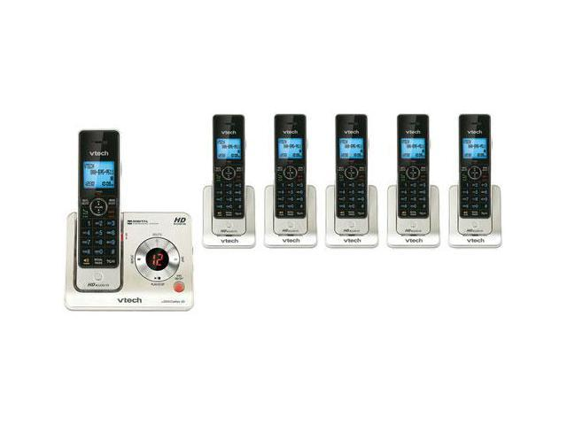 Vtech LS6425-3 + LS6405-3 Cordless Phone with 6 Handsets