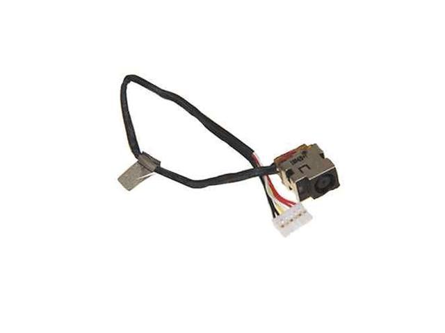 New Ac Dc-in Power Jack w/Cable Harness Connector Socket