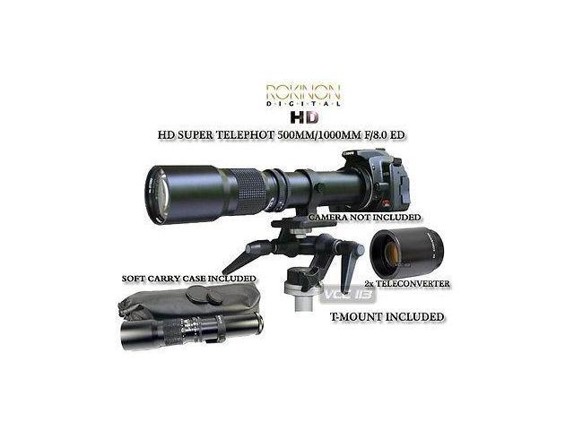 500mm/1000mm Telephoto Lens for Nikon D3X D700 D300 D90