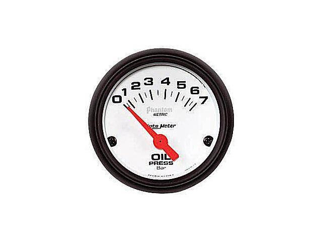 Auto Meter 5727-M Phantom Electric Metric Oil Pressure