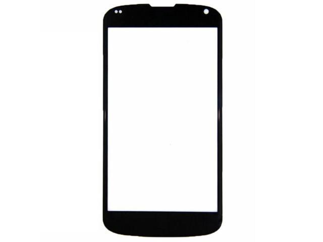 BisLinks® Black Front Outer Glass Lens Screen Replacement