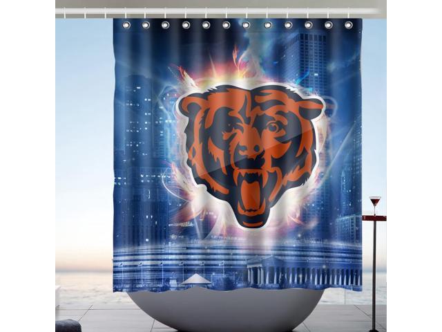 chicago bears nfl design 66x72 inch