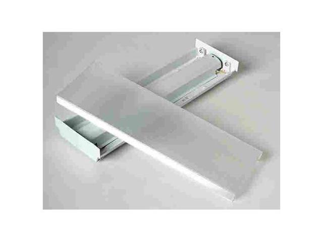 lithonia lighting 137fcu fluorescent wraparound box light fixture 120 volts