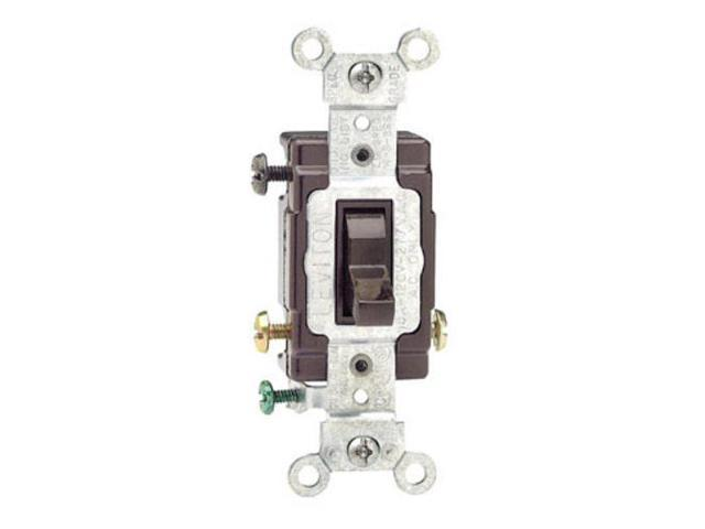 Leviton CS315-002 Commercial Quiet Toggle Switch, 3 Way