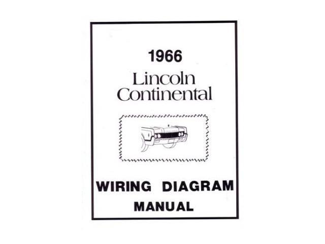 1966 Lincoln Electrical Wiring Diagrams Schematics