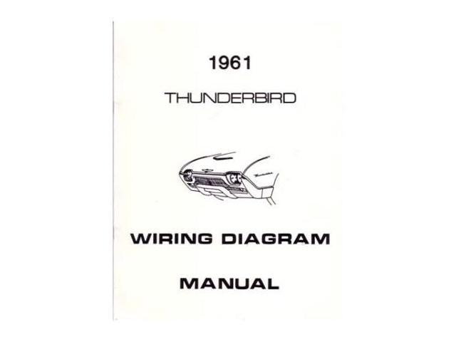 1961 Ford Thunderbird Electrical Wiring Diagrams