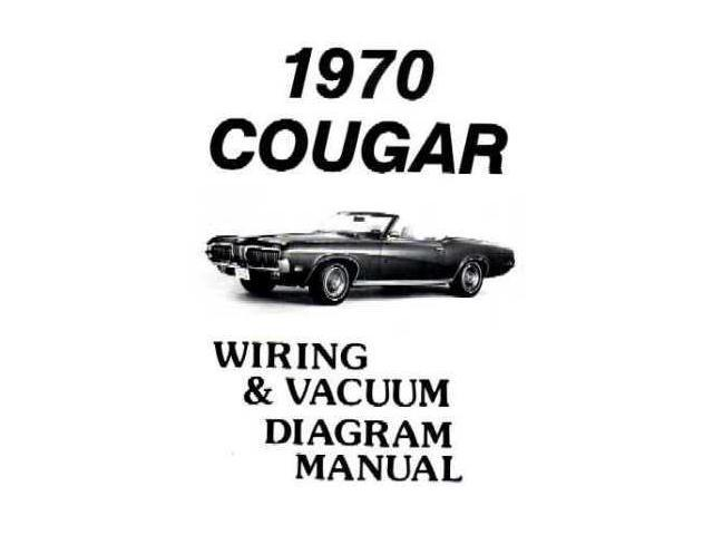 1970 Mercury Cougar Electrical Wiring Diagrams Schematics