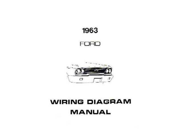 1963 Ford Galaxie Electrical Wiring Diagrams Schematics