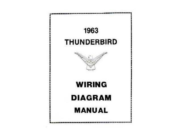 1963 Ford Thunderbird Electrical Wiring Diagrams