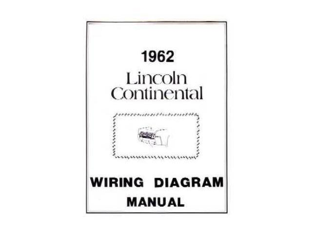 1962 Lincoln Continental Electrical Wiring Diagrams