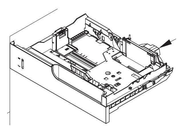 HP RM1-5928-000CN 500-Sheet Paper Input Tray Cassette