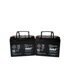 Liberty 312 Power Chair Battery Lawn Chairs Cheap 2 12v 33ah For Majors Mobisist Wheelchair