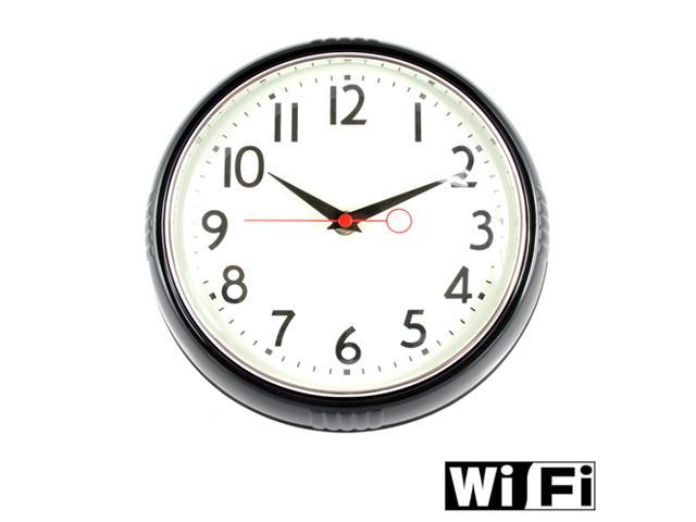 Espymall Hidden Camera WiFi Wireless Wall Clock Spy Camera