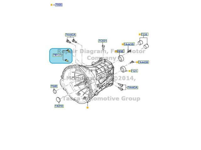 OEM 6 Speed Manual Transmission Retainer 2011-2013 Ford