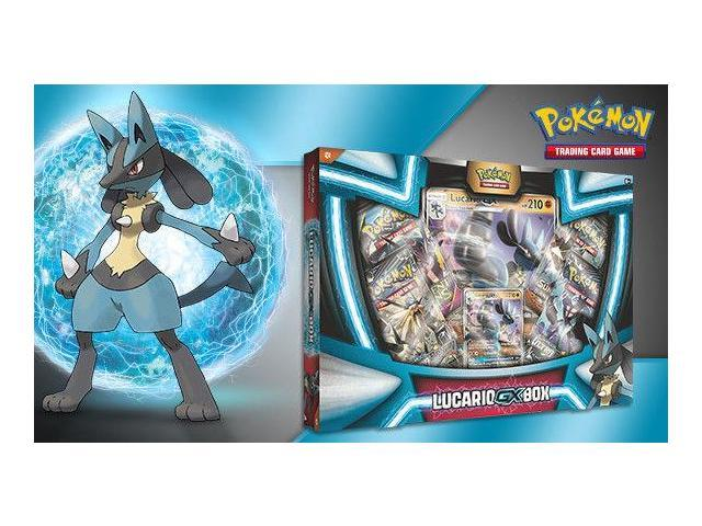 pokemon lucario gx booster