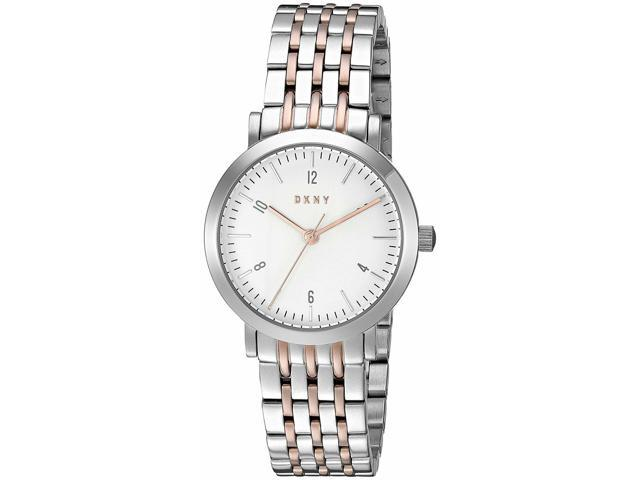 DKNY Womens NY2512 Minetta Two-Tone Stainless Steel Watch