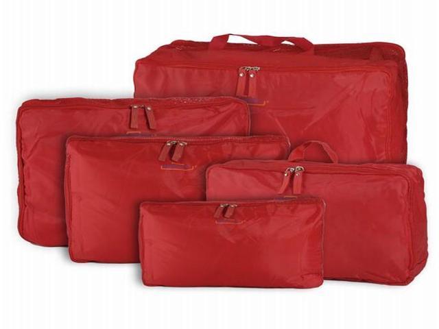 5pcs Travel Storage Bag Organizer Clothes Luggage Suitcase