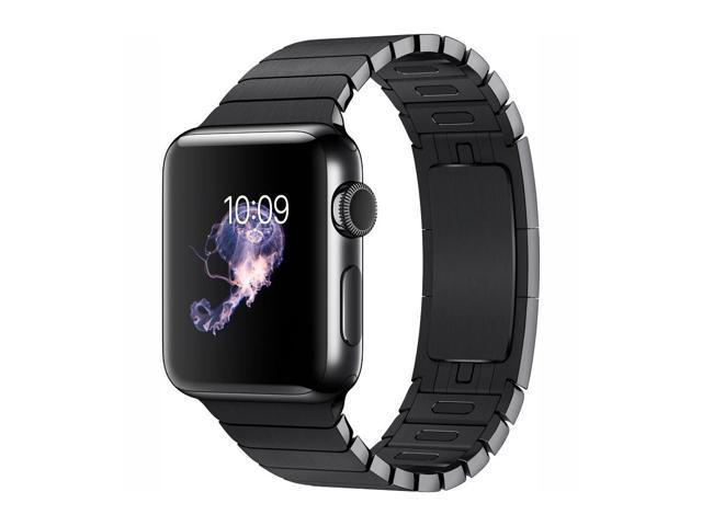 Apple Watch Series 2 38mm Smartwatch (Space Black Stainless Steel Case, Space Black Link Band)