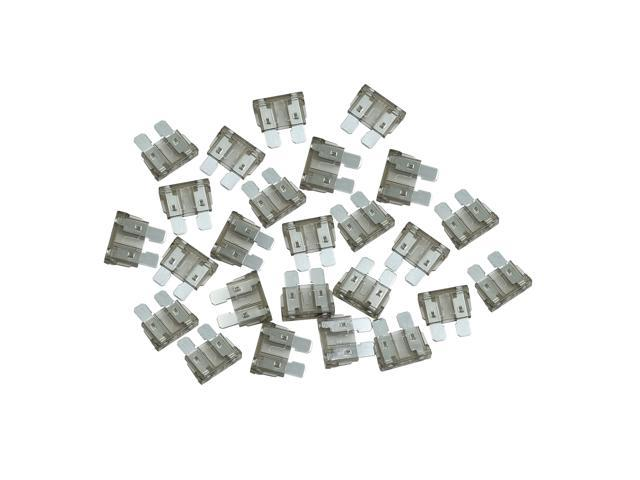 25pcs DC 5V-32V 2A Universal Middle Blade Style Fuse for