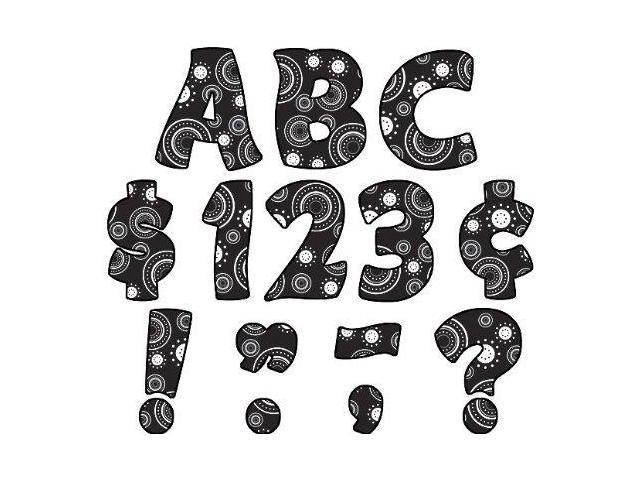 Teacher Created Resources Crazy Circles Funtastic Font 4