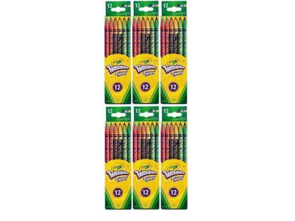 crayola color pencils # 63