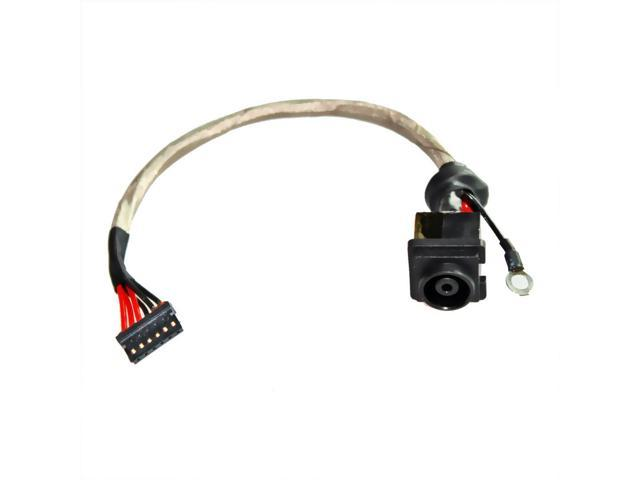 DC POWER JACK PLUG CONNECTOR WITH CABLE FOR SONY VPCF226FM