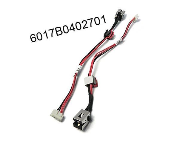 DC Jack Power with Cable Harness for TOSHIBA SATELLITE C55