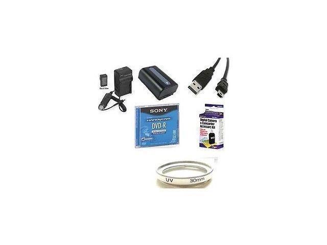 Accessory Kit for Sony DCR-DVD608, Sony DVD608E, Sony DCR