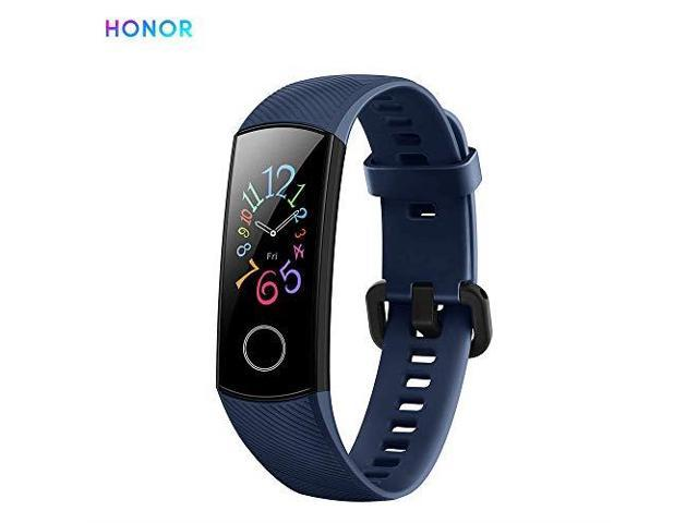 Honor Band 5 Smart Bracelet Watch Faces Smart Fitness Timer Intelligent Sleep Data RealTime Heart Rate Monitoring 5ATM Waterproof Swim Stroke Recognition BT 42 Wristwatch