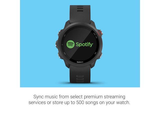 Garmin Forerunner 245 Music Black Forerunner 245 Music GPS Running Smartwatch