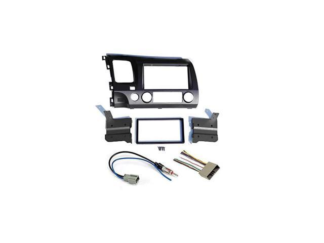 Grey Aftermarket Radio Stereo Double Din