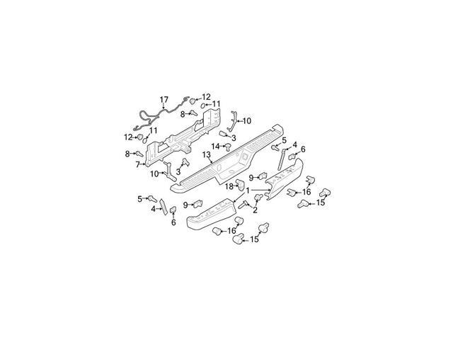 Oem Trailer Tow Harness Connector Fu5z14489a Image 18