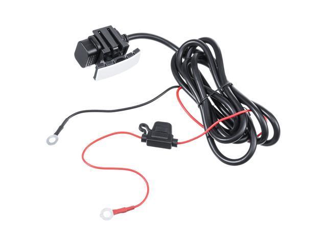 12V 24V 2.1A USB Charger Power Socket Outlet Adapter