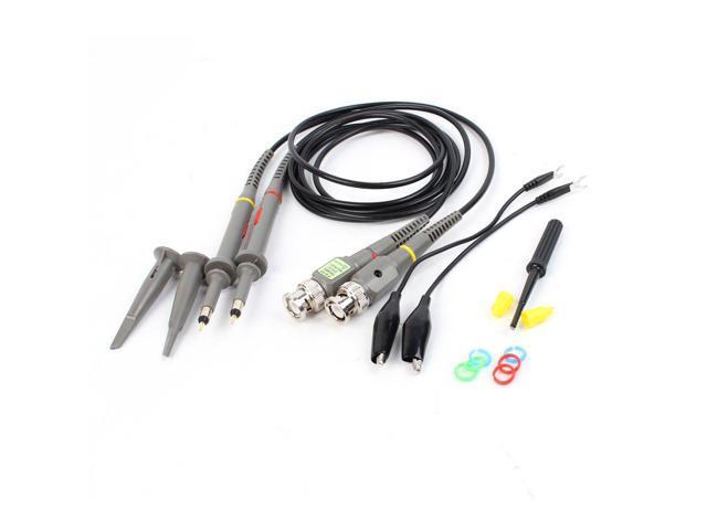 Unique Bargains Pair X1 X10 60MHz Oscilloscope Scope Clip