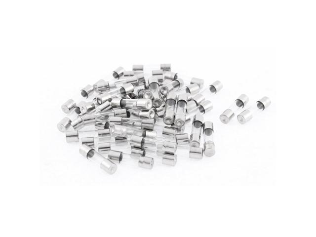 250V 0.25A Quick Fast Blow Glass Fuses 5mm x 20mm 50Pcs