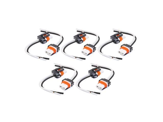 Ceramic Car Headlight H11 Socket Wiring Wire Harness