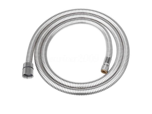 flexible kitchen faucet pull out spray replacement hose stainless steel