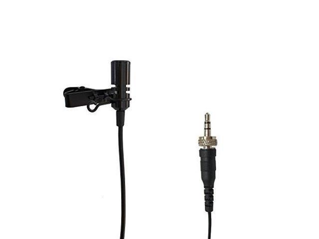 pro lavalier lapel microphone microdot 6013 for sennheiser