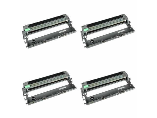 4 PK DR-210 Drum Unit Black For Brother MFC-9320CW 9010CN