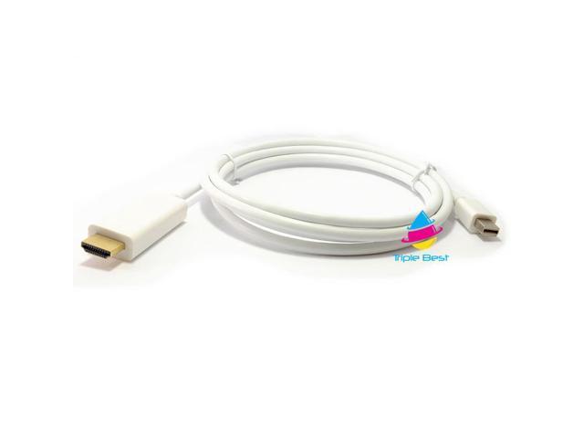 Premium 1080P Apple Thunderbolt / Mini DisplayPort to HDMI