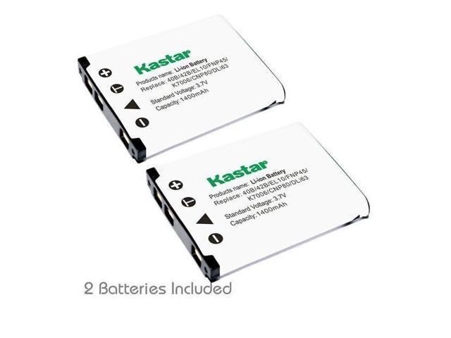 Kastar 42B Battery for Olympus Stylus 770SW 780 790SW 820