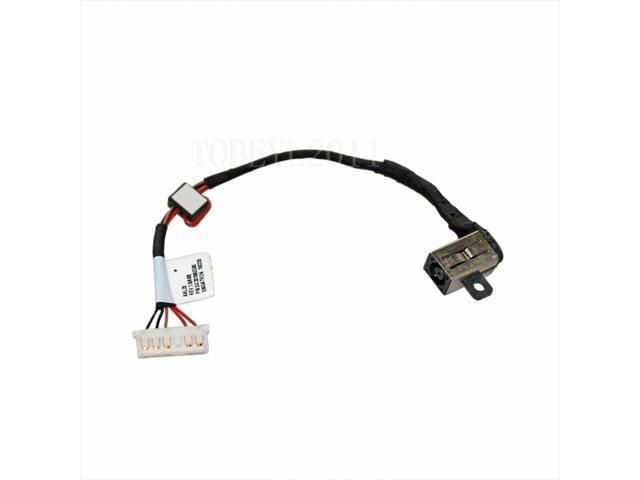 DC Power Jack Cable Harness Dell Inspiron P51F P51F001