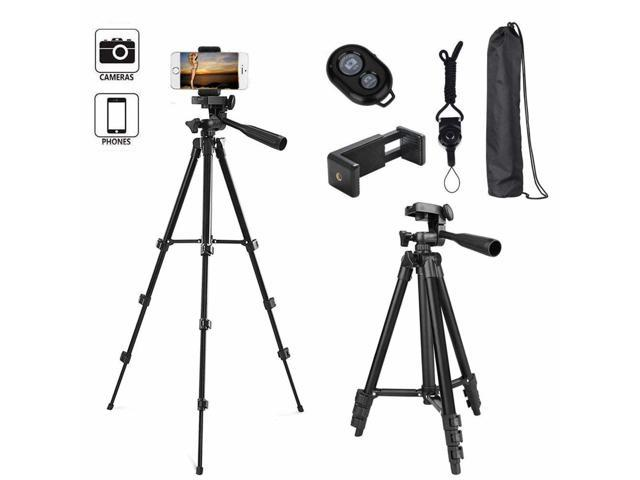 Cell Phone Tripod Stand Universal Camera Mount Holder With